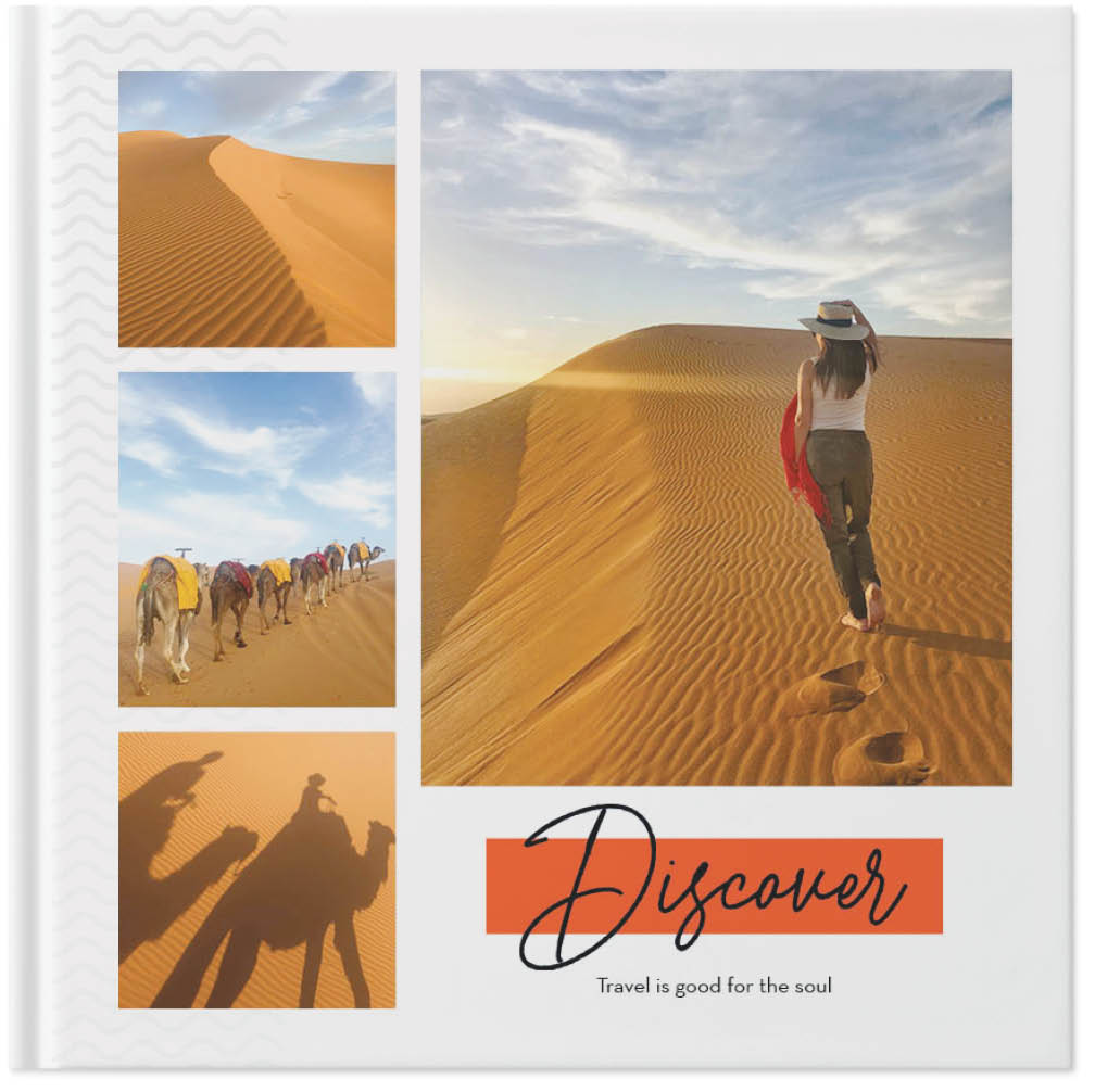 travel memories photo book