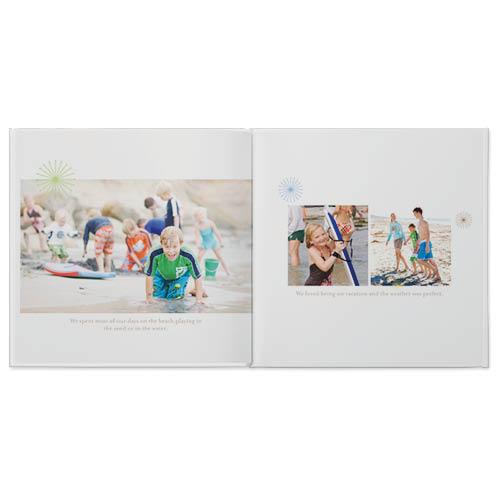simply white photo book