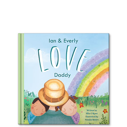 i love daddy grandpa uncle personalized story book